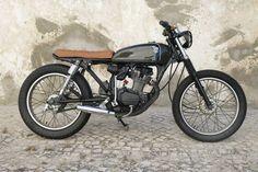 Honda Bratstyle #motorcycles #bratstyle #motos   caferacerpasion.com