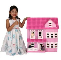 New MamaKiddies Victorian Pink Wooden Dolls House with complete furniture and 4 dolls by MAMAKIDDIES, http://www.amazon.co.uk/dp/B00587N2QE/ref=cm_sw_r_pi_dp_i1mNsb0EE8AFT