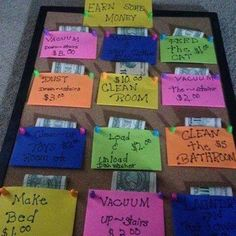 This is a great idea, needs some revamping for my family though