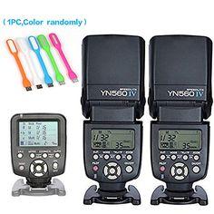 Yongnuo 2PCS YN-560IV Manual Flash Speedlite Light + YN56... https://www.amazon.com/dp/B01C3WRA32/ref=cm_sw_r_pi_dp_x_aOJyyb6B9CABQ