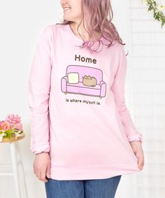 Pusheen Home unisex pullover