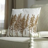 Found it at Birch Lane - Darcy Pillow Cover, Chocolate.If hubby doesn't hate these hmm