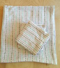 Double Gauze Arrow Blanket and Lovey Set in Lavender with Minky Backing by DottieandMod on Etsy