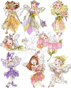 Very Fairy I Embroidery Design Collection  CD by loraliedesigns, $59.00