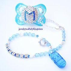 Boutique Custom Baby Bling Boy  Swarovski by jewelrybabyblingdara, $39.99