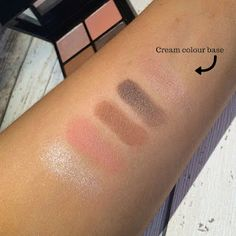 Ellie Goulding For M.A.C. Halycon Nights palette swatches