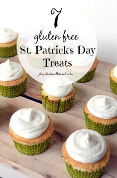 7 Gluten Free St. Patrick's Day Treats - These yummy gluten free recipes are sure to make this holiday full of gold!