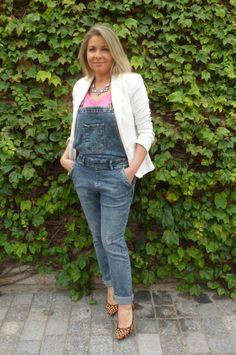 Look Work – Jardineira Jeans