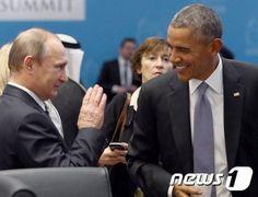 푸틴, IS 테러 대응 '광폭행보'…오바마와 비교 되네 : 네이버 뉴스