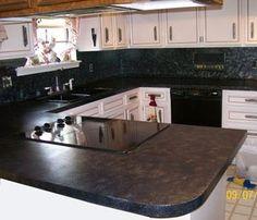 Giani Granite Fggi Bombay Sicilian Granite Paint Kit For Countertops Bombay  Black With Faux Granite Countertop Kit