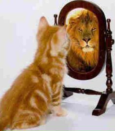 see yourself stronger, become stronger...