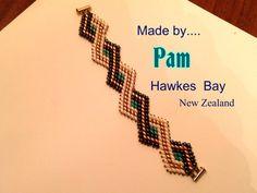 Tutorial Superduo Bracelet Peyote Art Deco Instant Pattern