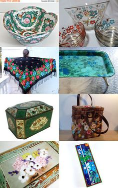 Fabulous Flowers by Elizabeth on Etsy--Pinned with TreasuryPin.com