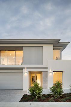 #elevation #homedesign #twostorey #twostoreyhome #exterior #cladding #whiterender