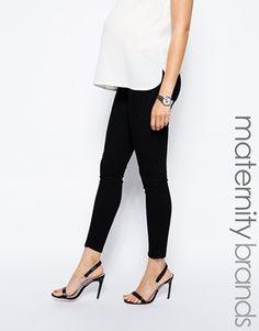 J Brand Maternity Black Skinny Jeans
