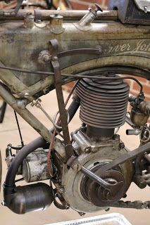 OldMotoDude: 1912 Iver Johnson on display at the St. Francis Motorcycle Museum -- Kansas