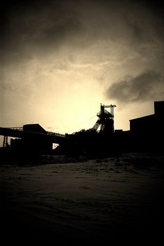 Seaham Colliery photographed by Allinson's Photography during demolition