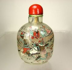 YONG SHOU TIAN, Superb Chinese Inside-Painted Glass Snuff Bottle, 1917 (item #1284607)