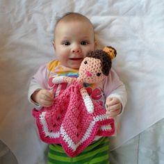 Princess Lovey Crochet Amigurumi Pattern PDF INSTANT por AlaSascha