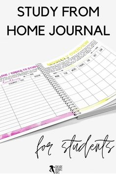 Help your students learn how to study from home with this self lead guide / journal that comes in both printable and digital options for your students. This resource is ready to use. It comes with a 17 page printable journal for them to fill in, and there is a digital version available too for them to type directly into the document, should they prefer. I hope this helps your students as they learn the discipline it takes to study from home! Teaching Character, Character Education, Character Development, Personal Development, Life Skills Lessons, Health Lessons, Growth Mindset Activities, New Years Activities, Responsive Classroom