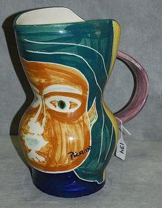 H Pugh Pottery 36 Best Picasso's pott...