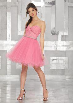 82958870aa74 Buy 2018 Short Length Sleeveless Sweetheart Zipper Blue A-line Tulle Prom / Cocktail  Dresses
