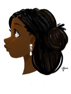 Vashti Harrison Illustration   Black Girl Magic   Bold