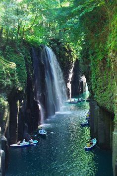 Takachiho Gorge, Miyazaki, Kyushu, Japan// my first area, japan Fukuoka mission. Takachiho, Oh The Places You'll Go, Places To Travel, Places To Visit, Wonderful Places, Beautiful Places, Travel Around The World, Around The Worlds, Les Cascades