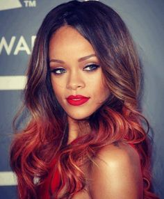Want this ombre look!
