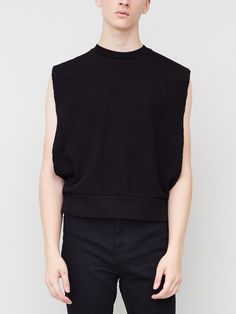 Sideless Pullover in Black