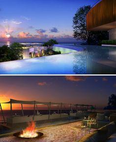 Infinity pool - Langham Place Miora Resort & Spa, Phuket