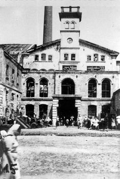 Main entrance to the Konstancja sugar factory, Kutno Ghetto Jewish Ghetto, Sugar Factory, Main Entrance, World War Ii, Wwii, Poland, Travel, Image, History