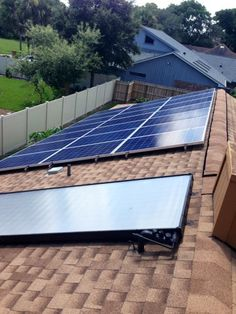 6 KW PV, Solar Electric and Solar Hot Water System.