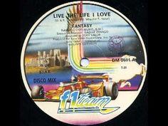 Fantasy Live The Life I Love 12 Inch 1983 - YouTube