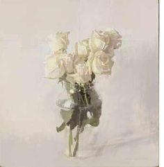 Antonio Lopez Garcia, oil on board Spanish Painters, Spanish Artists, Art Floral, The White Album, Bloom Blossom, Art For Art Sake, Contemporary Paintings, Find Art, White Flowers
