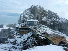 Mount Pilatus, Lucerne- one of the scariest places I've ever went to! The ride up was SOOOO scary!! And COLD... OMG...one of the coldest place I'veever been.  But BEAUTIFUL and worth the trip.