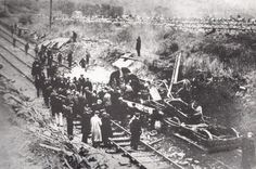 The Ais Gill rail accident of 1913 really happened- this is the train that Rose and Nathaniel Walker were killed on