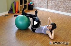 gym workout weight loss nutrition health and fitness Dust off your stability ball and try this great workout! Coach Nicole leads 9 exercises to strengthen and stretch all of your major muscle groups in just 15 minutes! Fitness Video, Fitness Tips, Health Fitness, Fitness Exercises, Workout Fitness, Dumbbell Workout, Workout Exercises, Muscle Fitness, Yoga Fitness