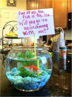 Ask your date to #homecoming with a pet!