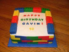 easy boy birthday cakes - Google Search