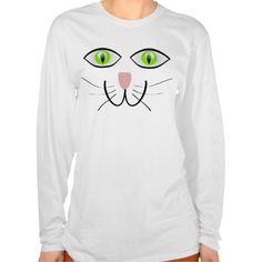 Little Gray Kitten Cat Face T Shirt, Hoodie Sweatshirt