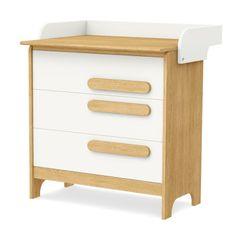 Timoore Komoda trzyszufladowa First 4 Kids, Baby Room, Nightstand, Storage, Table, House, Furniture, Design, Home Decor