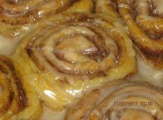 Basic Yeast Cinnamon Rolls Recipe
