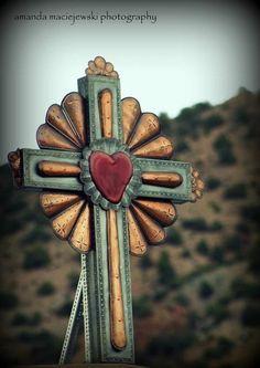 El Santuario de Chimayo, New Mexico; This shrine, a National Historic Landmark, is famous for the story of its founding and as a contemporary pilgrimage site.