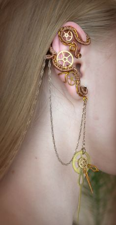 Ear cuff by ~Amorenme on deviantART