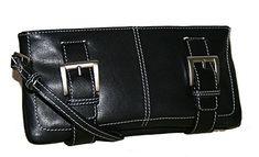 Genuine Leather Clutch Wristlet with two accent silver bu... http://www.amazon.com/dp/B01EW36MQG/ref=cm_sw_r_pi_dp_gbwixb1G3F0KH