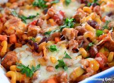 Sausage and Bean Pasta Bake | Slimming Eats - Slimming World Recipes
