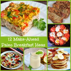 12 Make-Ahead Paleo Breakfast Ideas