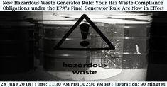 Hazardous Waste, Health And Safety, June