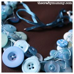 I've been admiring other people's necklaces. Often surreptitiously in shopping centres and other public places. Necklaces like this one made of buttons – lots of buttons! So I made one! I bought a bag of coordinated buttons from Spotlight and used some embroidery floss I already had. I didn't have the jewellery fixings that were...Read More »